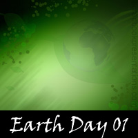 Earth Day Scrapbook Backdrops
