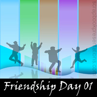 Friendship day Backdrops