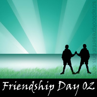 Free Friendship Day Scrapbook Backdrop, Paper, Book Downloads
