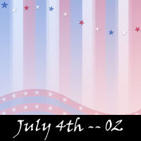 Free July 4th Scrapbook Backdrops, Paper, Book Downloads