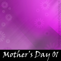 Free Mother's Day 01 Scrapbook Backdrop, Paper, Book Downloads