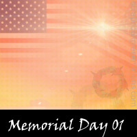 Free Memorial Day Scrapbook Backdrop, Paper, Book Downloads