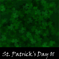 Free St. Patrick's Day Scrapbook Backdrops, Paper, Book Downloads