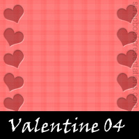 Valentine Scrapbook Backdrops