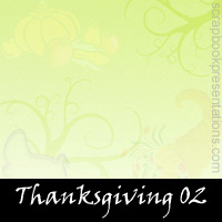 Free Thanksgiving Scrapbook Backdrop, Paper, Book Downloads