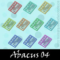 Free Abacus SnagIt Stamps, Scrapbooking Printables Download