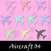 Free Aircraft Embellishments, Scrapbook Downloads, Printables, Kit