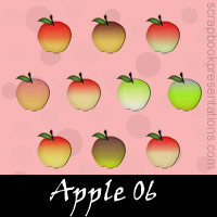 Free Apple SnagIt Stamps, Scrapbooking Printables Download