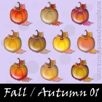 Fall / Autumn Snagit Stamps