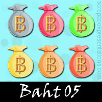 Free Baht SnagIt Stamps, Scrapbooking Printables Download