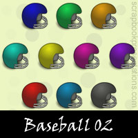 Free Baseball Embellishments, Scrapbook Downloads, Printables, Kit