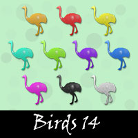 Free Birds Embellishments, Scrapbook Downloads, Printables, Kit