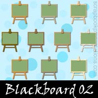 Free Blackboard SnagIt Stamps, Scrapbooking Printables Download