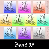 Free Boat Embellishments, Scrapbook Downloads, Printables, Kit