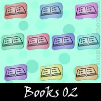 Free Books Embellishments, Scrapbook Downloads, Printables, Kit