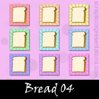 Free Bread Embellishments, Scrapbook Downloads, Printables, Kit