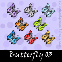 Free Butterfly Embellishments, Scrapbook Downloads, Printables, Kit