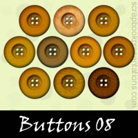 Free Buttons Embellishments, Scrapbook Downloads, Printables, Kit
