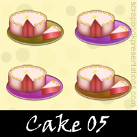 Free Cake Embellishments, Scrapbook Downloads, Printables, Kit