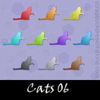 Free Cat SnagIt Stamps, Scrapbooking Printables Download