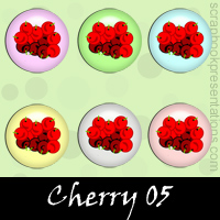 Free Cherry SnagIt Stamps, Scrapbooking Printables Download