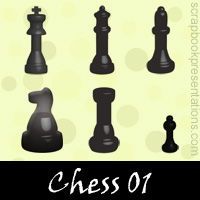 Free Chess Embellishments, Scrapbook Downloads, Printables, Kit