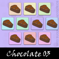 Free Chocolate Embellishments, Scrapbook Downloads, Printables, Kit