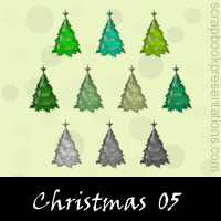 Christmas Snagit Stamps