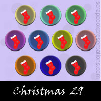 Free Christmas SnagIt Stamps, Scrapbooking Printables Download