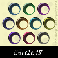 Free Circle Embellishments, Scrapbook Downloads, Printables, Kit
