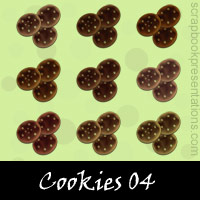 Free Cookies SnagIt Stamps, Scrapbooking Printables Download