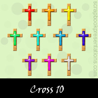 Free Cross Embellishments, Scrapbook Downloads, Printables, Kit