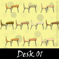 Free Desk SnagIt Stamps, Scrapbooking Printables Download