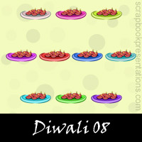 Free Diwali SnagIt Stamps, Scrapbooking Printables Download