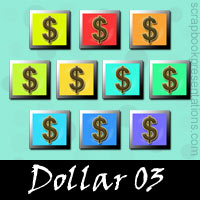 Free Dollar Embellishments, Scrapbook Downloads, Printables, Kit