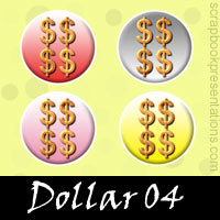 Free Dollar SnagIt Stamps, Scrapbooking Printables Download