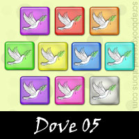 Free Peace: Dove Embellishments, Scrapbook Downloads, Printables, Kit