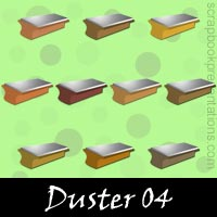 Free Duster SnagIt Stamps, Scrapbooking Printables Download