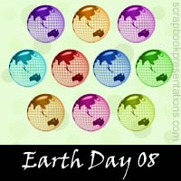 Earth Day snagit stamps