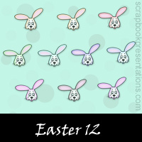 Easter Scrapbook Embellishments