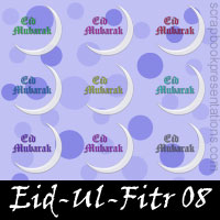 Free Eid-ul-Fitr Embellishments, Scrapbook Downloads, Printables, Kit