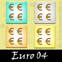 Free Euro SnagIt Stamps, Scrapbooking Printables Download