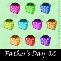 Father's Day Scrapbook Embellishments