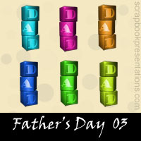 Father's Day Snagit Stamps