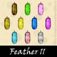 Free Feather SnagIt Stamps Download