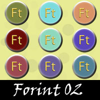 Free Forint SnagIt Stamps, Scrapbooking Printables Download