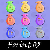 Free Forint Embellishments, Scrapbook Downloads, Printables, Kit