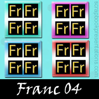 Free Franc SnagIt Stamps, Scrapbooking Printables Download