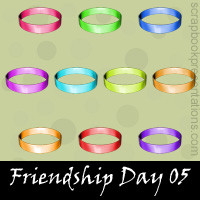 Friendship day snagit stamps