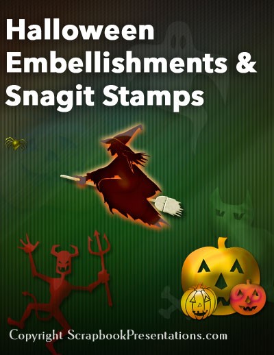 Halloween Scrapbook Embellishments